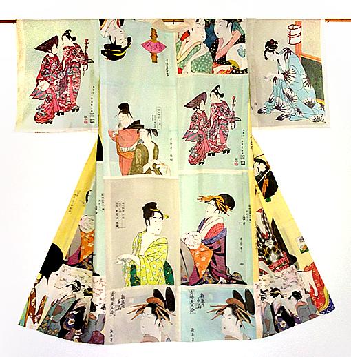 ukiyoe juban kimono