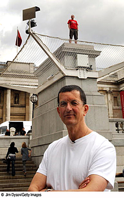 Gormley at 4th Plinth