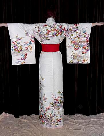 Japanese kimono Modelling