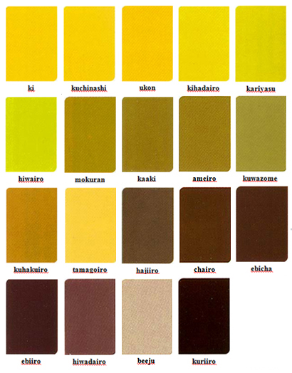 japanese color names |