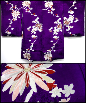 1920s purple haori