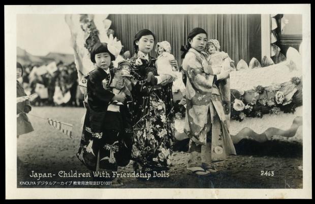 American dolls in Japan 1927