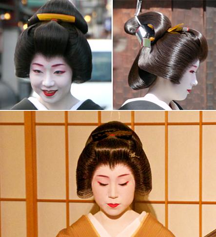 geiko geisha wig