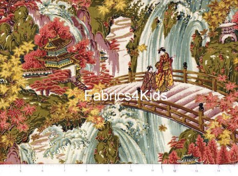 Etsy Fabrics4Kids half yd Oriental Traditions  01 jan 2015