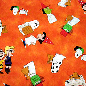 halloween-peanuts-and-the-gang-fabric-bright-orange-background