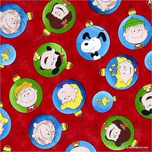 peanutschristmastimecharacterornamentsonred22655r